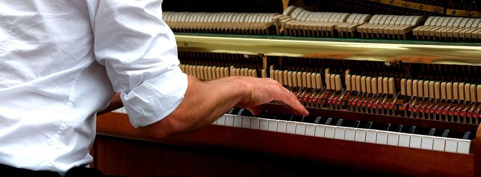 hamers van een piano