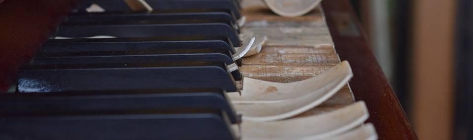 versleten piano