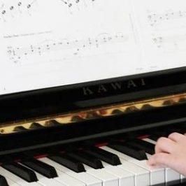 fysieke pianolessen