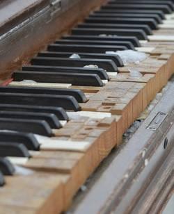 slijtage piano