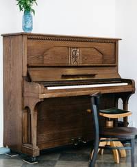 afmetingen piano