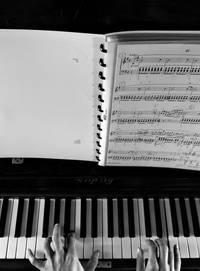 bladmuziek keyboard
