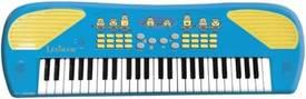 Een minions speelgoed keyboard