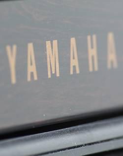 Een piano van Yamaha