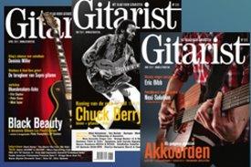 bladen de gitarist