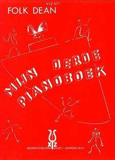 De cover van mijn derde pianoboek van Folk Dean