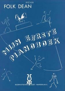 De cover van Mijn eerste pianoboek van Folk Dean