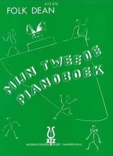 De cover van mijn tweede pianoboek van Folk Dean