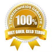 garantie 100 procent
