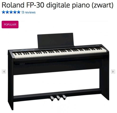 Een afbeelding van de digitale piano Roland FP-30