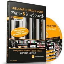 De cover van de online piano cursus pianoles van rene