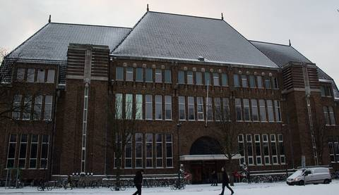 Gebouw aan de Neude in Utrecht