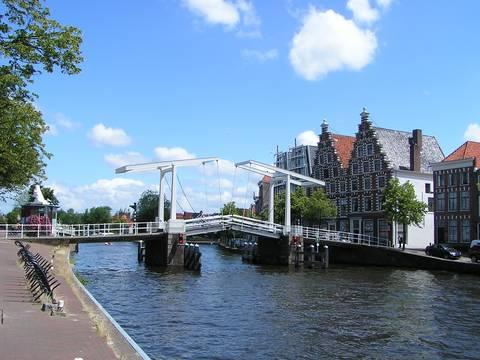 Haarlem brug over het Spaarne