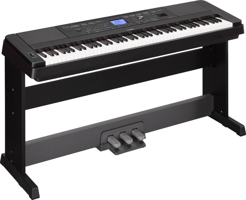 yamaha dgx 660 digitale piano zwart