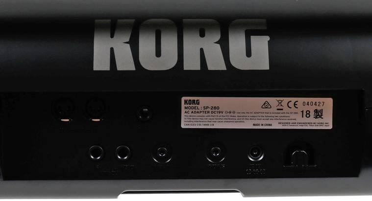 Korg SP 280 tweedehands